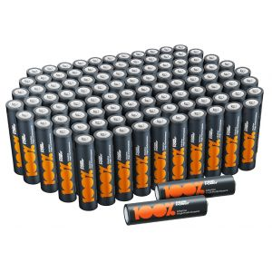 AAA LR3 Batteries - Pack of 100
